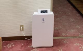 オゾン空気清浄機の設置